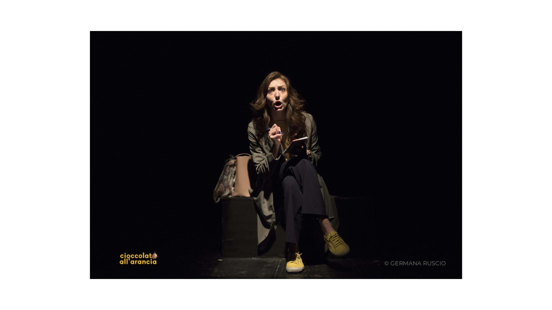 """Al Teatro Belli """"Cioccolato all'arancia"""" di e con Martina Gatto"""