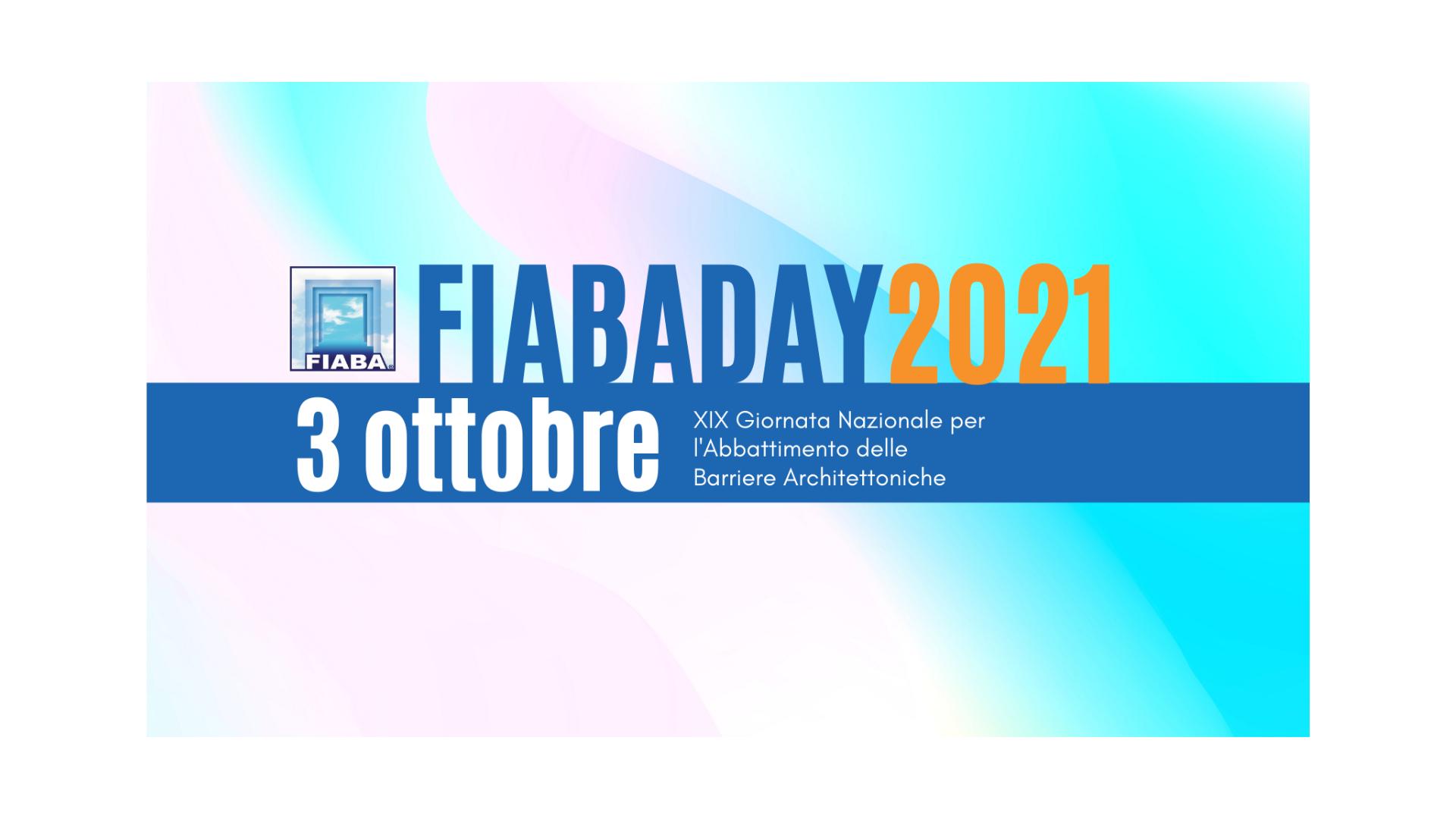 """La XIX """"Giornata Nazionale per l'Abbattimento delle Barriere Architettoniche – FIABADAY"""""""