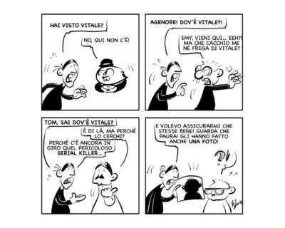 """La vignetta del giorno, 24 settembre 2021: """"Preoccupazioni… seriali!"""""""