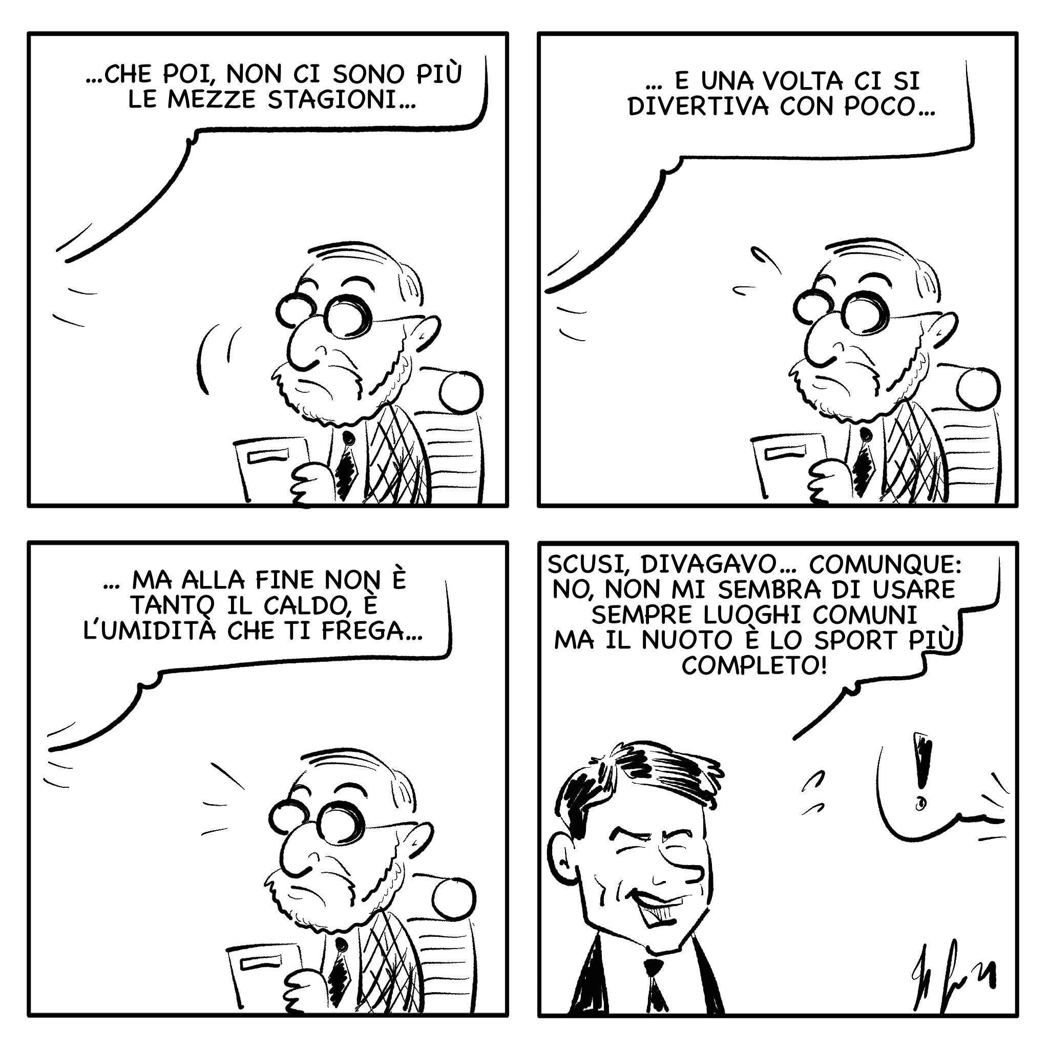 """La vignetta del giorno, 21 settembre 2021: """"Una rondine non fa prim… BASTAAAAA!!!!"""""""