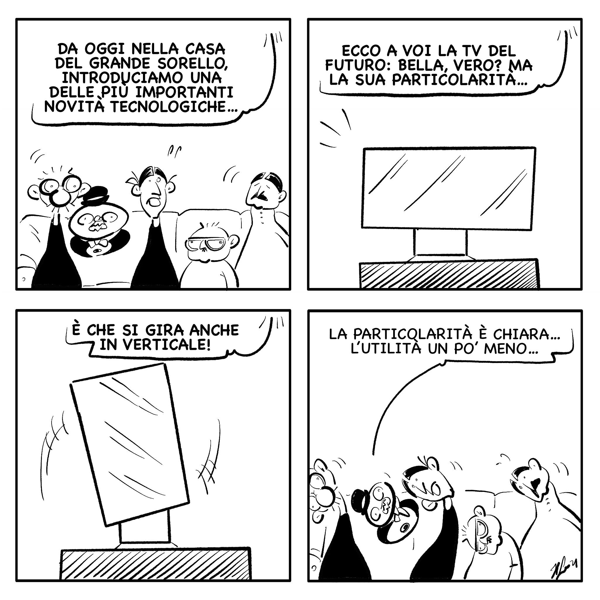 """La vignetta del giorno, 27 settembre 2021: """"Quando la tecnologia ci viene in aiuto…"""""""