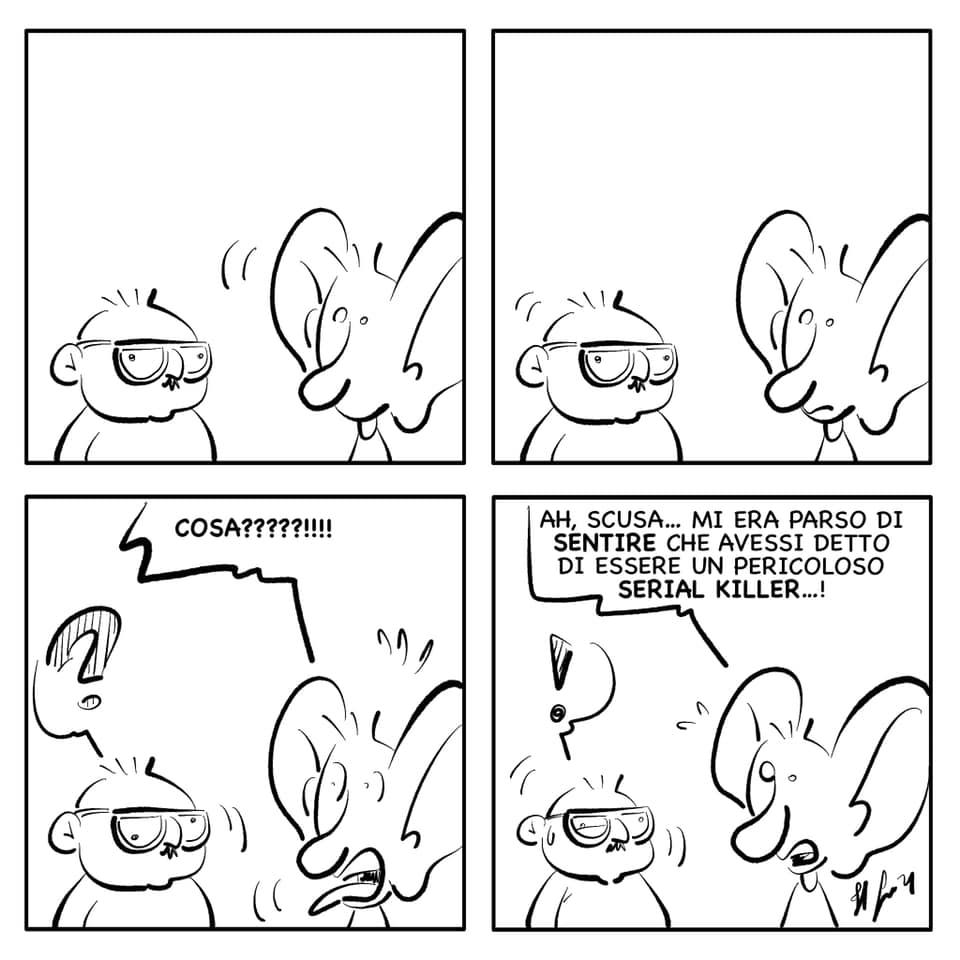 """La vignetta del giorno, 7 ottobre 2021: """"Non c'è peggior sordo…"""""""