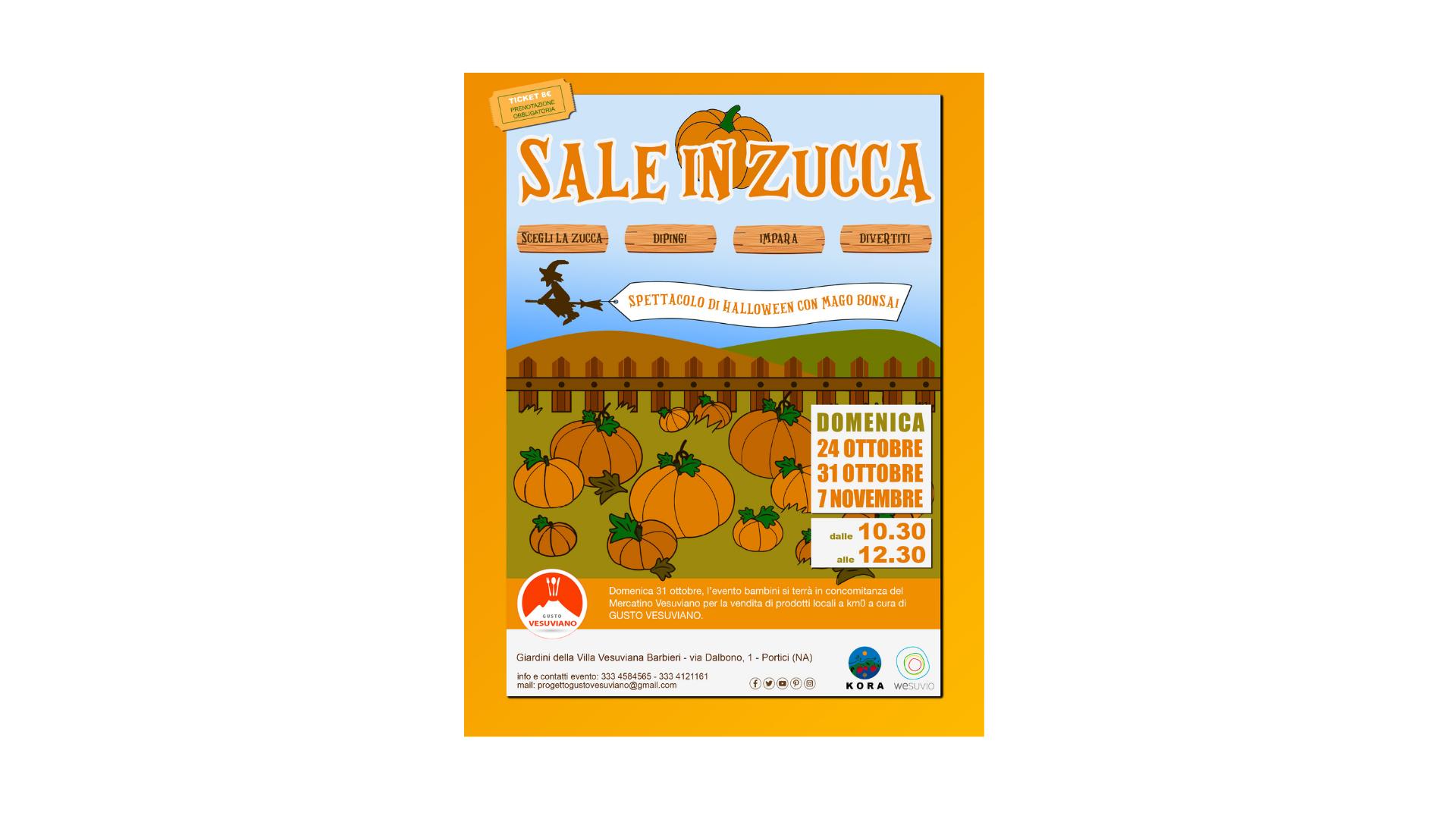 """A Portici (NA) """"Sale in zucca"""""""