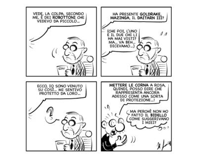 """La vignetta del giorno, 12 ottobre 2021: """"Non fa una piega…"""""""
