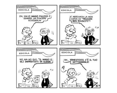 """La vignetta del giorno, 8 ottobre 2021: """"Aggiornarsi sulla propria professione…"""""""