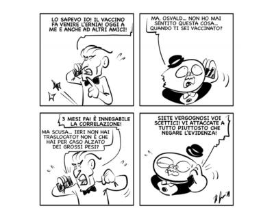 """La vignetta del giorno, 4 ottobre 2021: """"Questi scettici…"""""""