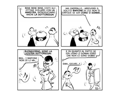 """La vignetta del giorno, 22 ottobre 2021: """"La dottoressa!"""""""