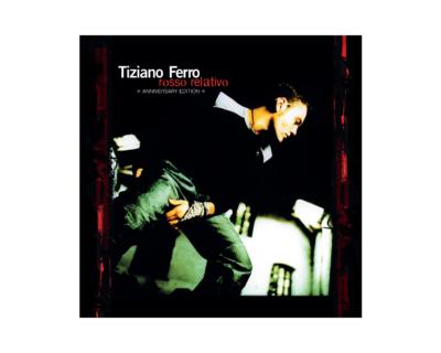 """Tiziano Ferro, in arrivo """"Rosso Relativo – Anniversary Edition"""""""